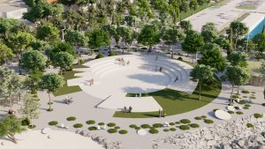 VIDEO: Croatian town of Kaštela to get new square with amphitheatre, park