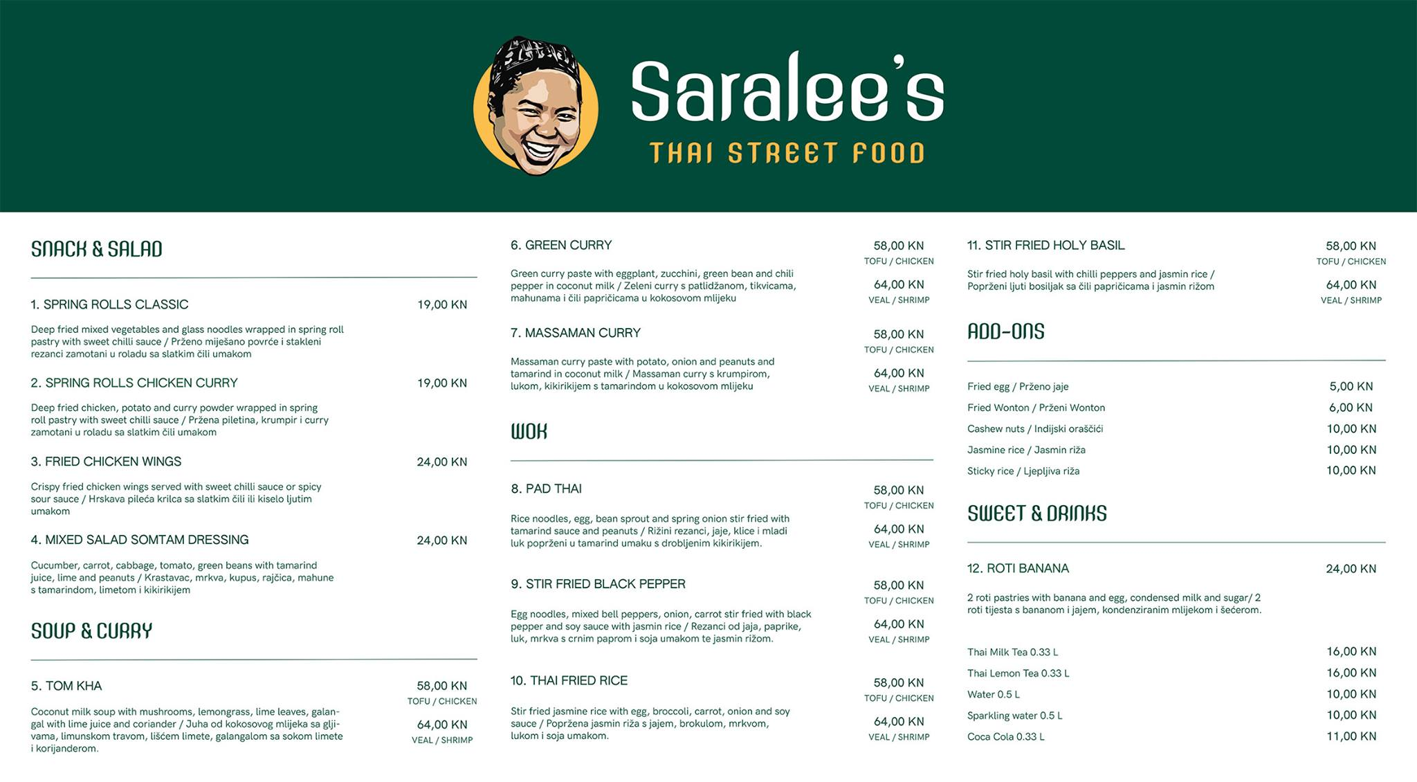 Saralee's: New Thai street food opens in Zagreb
