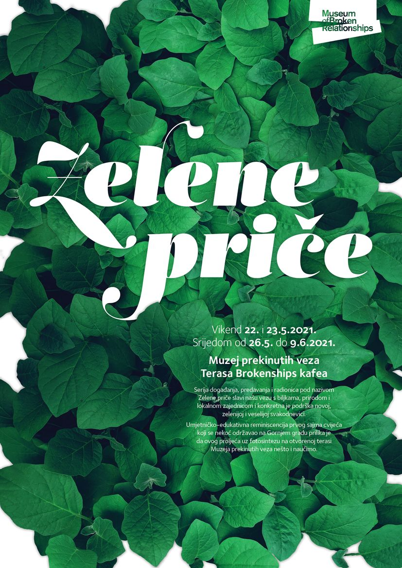 Green Stories at Zagreb's Museum of Broken Relationships