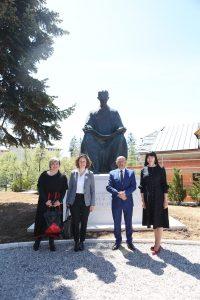 Ceremony of returning Nikola Tesla monument to Gospić held