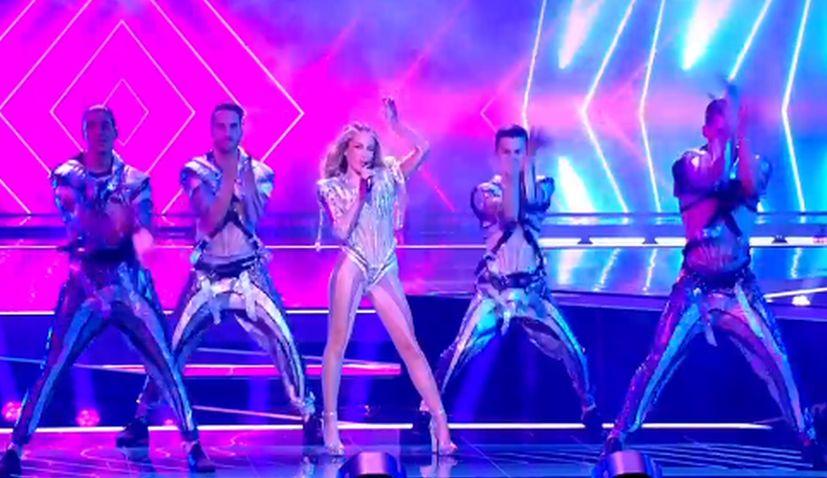 Albina Grcic Eurovision final
