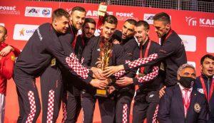 Croatian national karate team are the European champions
