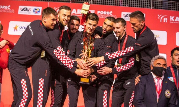 Croatian team become European karate champs for first time