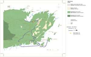 Interesting geological background of the best Plavac wine grapes from UNESCO geopark Vis archipelago