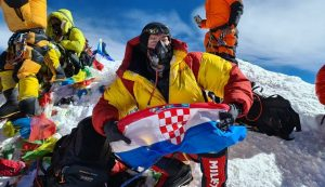Mario Celinić has become the sixth person from Croatia to climb the highest peak in the world, Mount Everest.