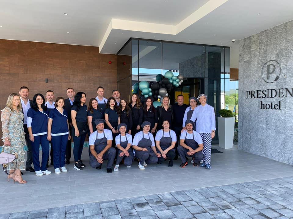 Hotel President opens in Capljina Nikica Jelavic