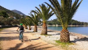 Pelješac: Interactive map with mountain bike and hiking routes