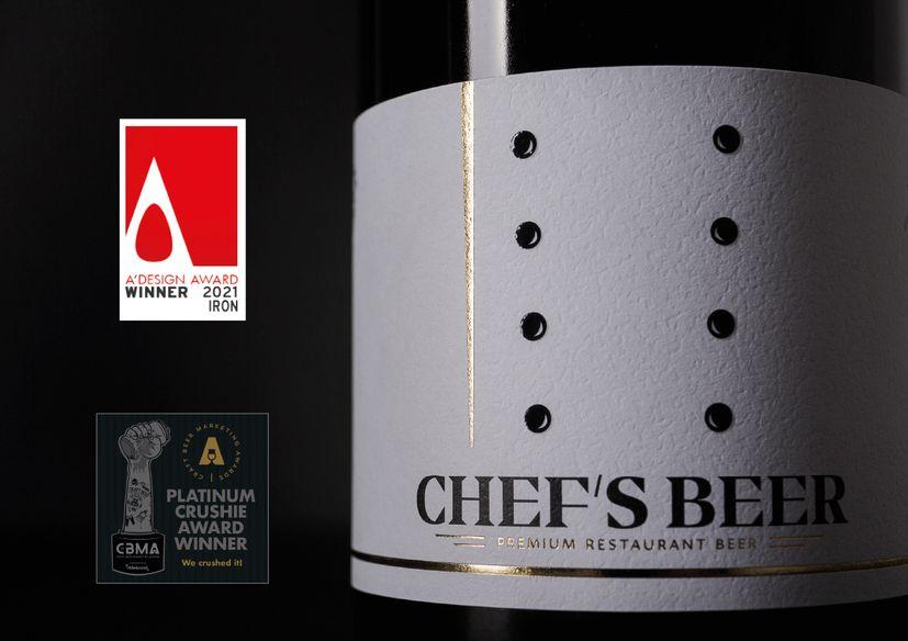 Label for Croatia's Chef's Beer wins best in Europe awards