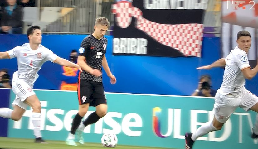 Croatia spain euro u21 quarterfinal