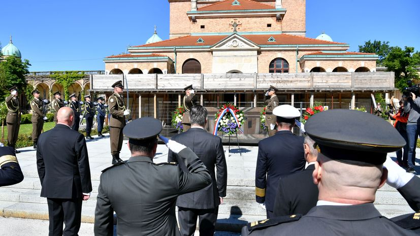 30th anniversary of the formation of the Croatian Army marked