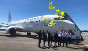 ETF Airways New Croatian private airline, ETF Airways, has presented its first aircraft