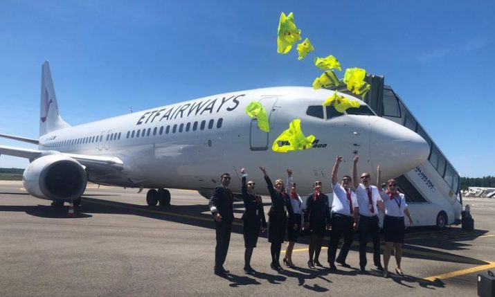 ETF Airways – new Croatian carrier presents first aircraft
