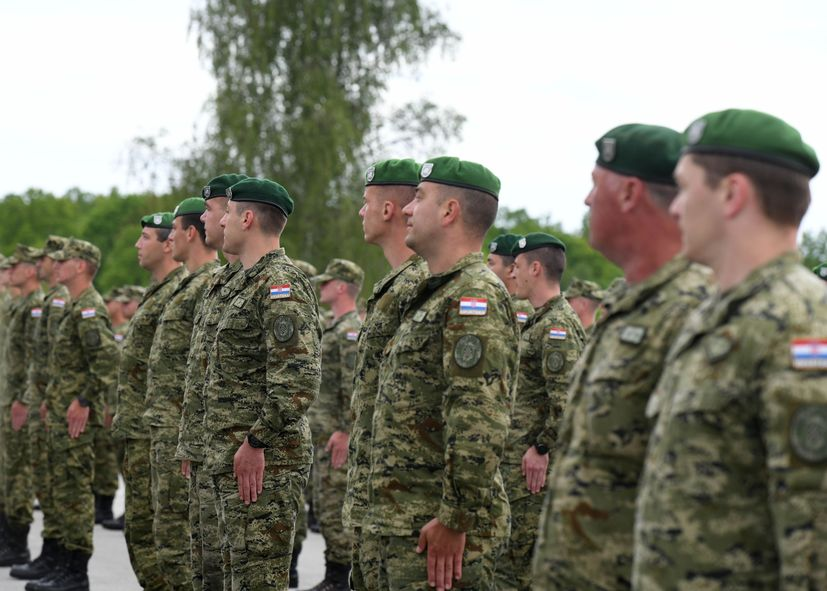 """30th anniversary of the formation of the 2nd Guards Brigade """"Gromovi"""""""