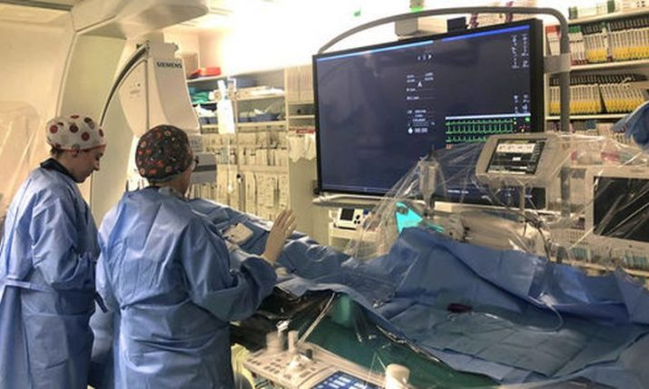 First in Croatia: Doctors in Rijeka close heart rupture without surgery