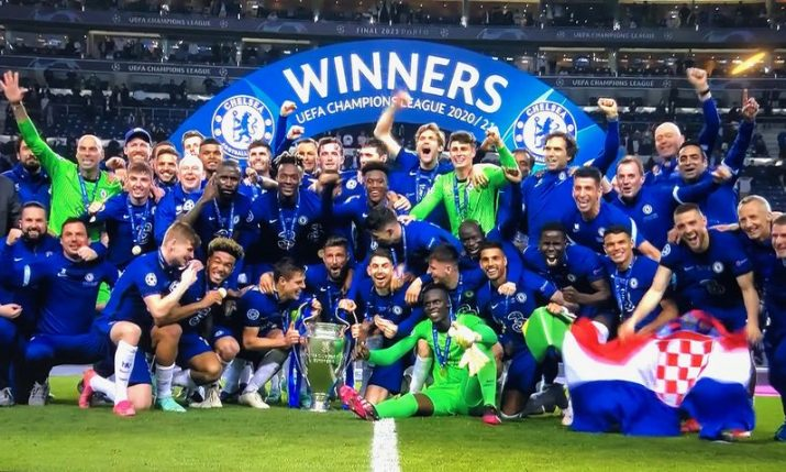 Croatian wins Champions League title for 9th consecutive year