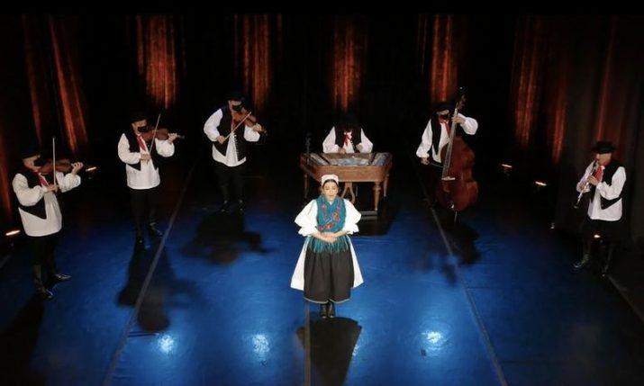 Croatia's famous folklore ensemble LADO opening concert seasonwith vocal-instrumental show