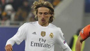 Luka Modric player of the season Real Madrid