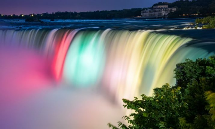 Niagara Falls to light up in Croatian colours this weekend