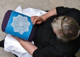 Lace from island of Pag: license now required to use it