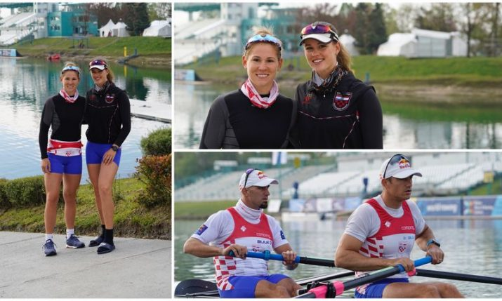 Croatian sisters and brothers win gold at World Rowing Cup in Zagreb
