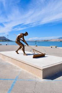 Statue dedicated to century-old salt tradition unveiled on Croatian island of Pag