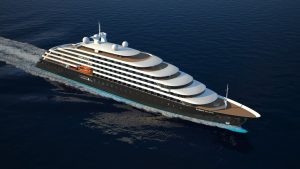"""The keel laying ceremony for """"Eclipse II"""", the most luxurious polar cruiser in the world, has taken place at the 3. Maj dock in Rijeka today"""