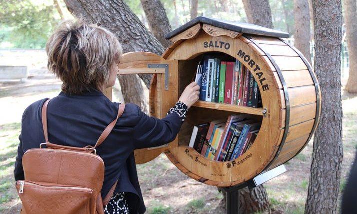 Open-air library opens in park in Šibenik