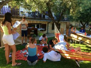 Speak Up!'s English Writing and Adventure Camp