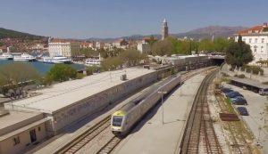 Croatia rail zagreb to the coast