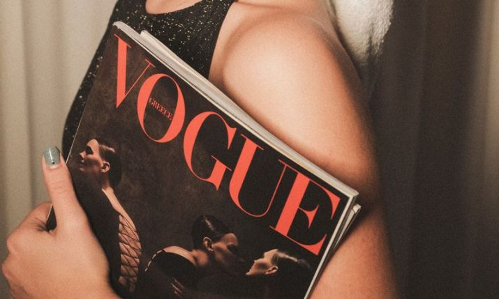 Billie Eilish on Vogue cover wears suspender belt by Croatian seamstress