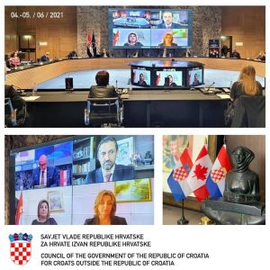 Work needed on important issues for Croatia and Croats abroad for progress