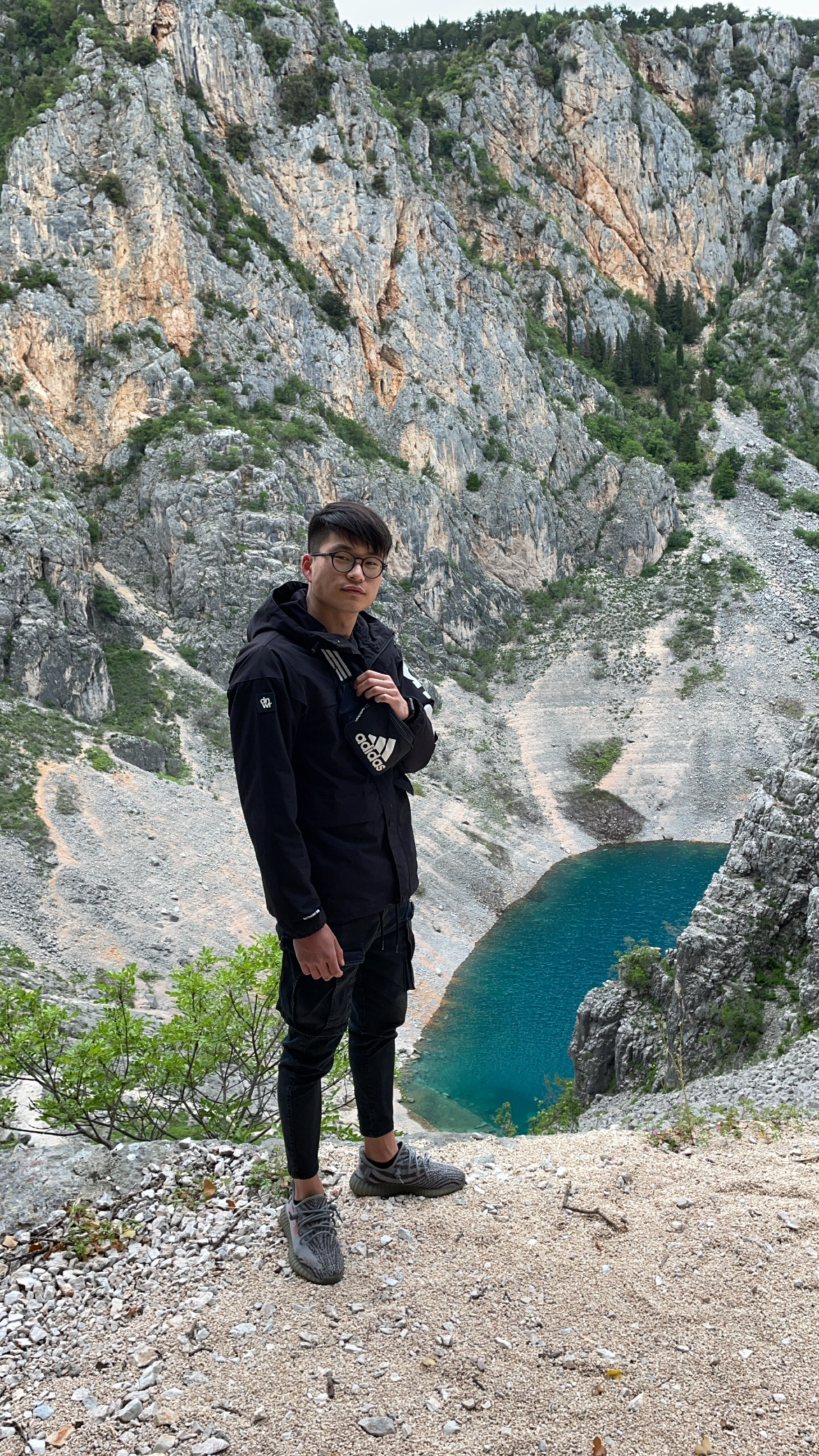 Rising Croatian-born Korean actor Seck Zeen Hong