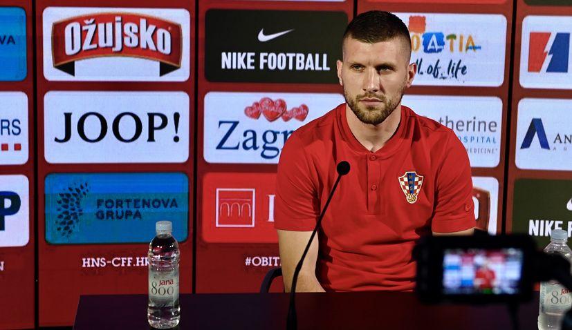 Ante Rebić has addressed the media just days ahead of Croatia's Euro 2020 opener against England.