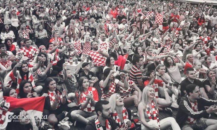 Foodballerka: Football gastro festival during Euro in Zagreb