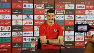Midfielder Mateo Kovačić and keeper Dominik Livaković have faced the press on Friday ahead of Croatia's Euro 2020 opener against England