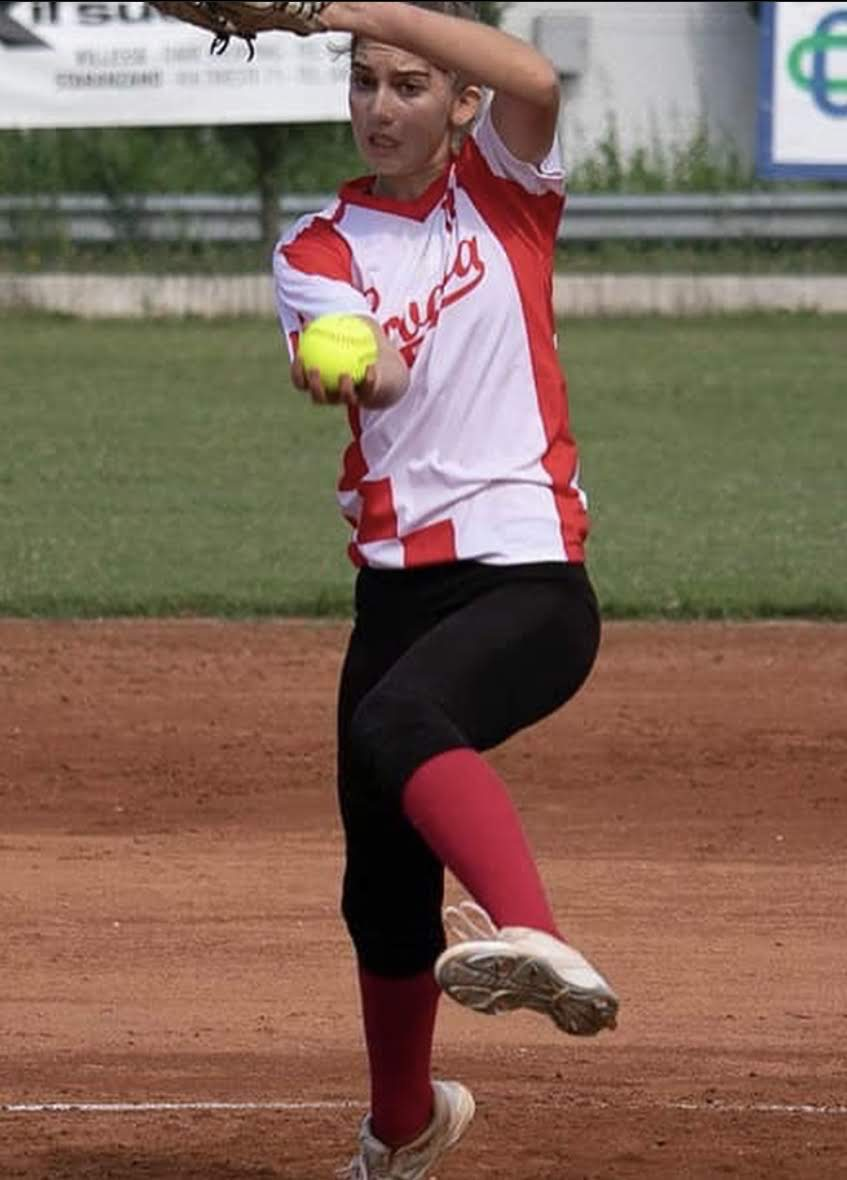 Two US softball stars Marina Vitalich and Addison Kostrencich playing for Croatia in the European Champs