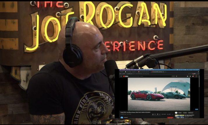 Rimac Nevera impresses Joe Rogan