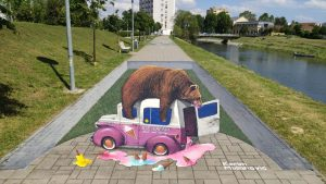 VukovArt street festival murals from 2021