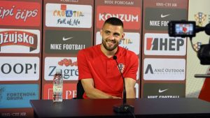 Mateo Kovačić and keeper Dominik Livaković have faced the press on Friday ahead of Croatia's Euro 2020 opener against England
