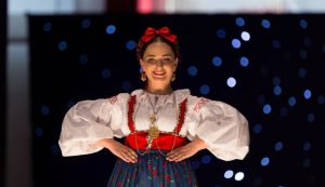 Most beautiful Croatian in folk costume outside Croatia
