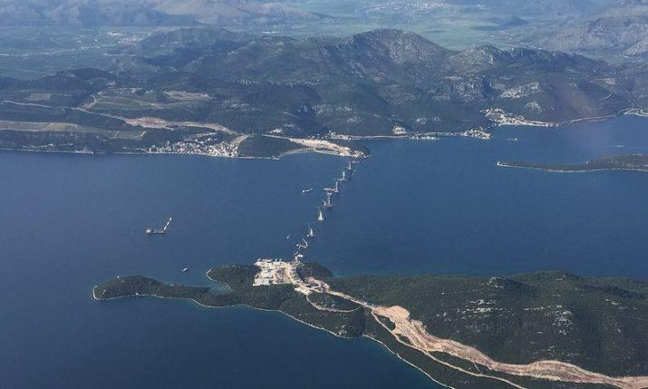 VIDEO: Pelješac Bridge to be finished in around 30 days