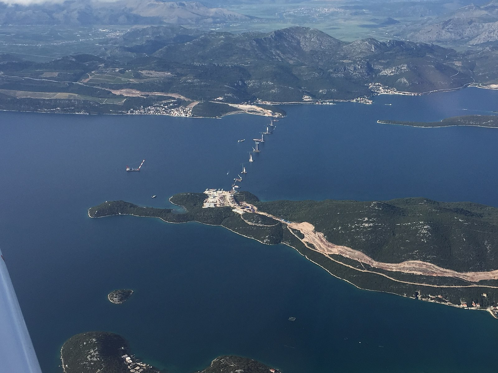 Pelješac Bridge to be finished in a month's time