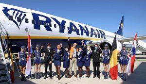 First Ryanair flight lands in Zagreb