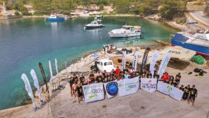 Fifteen tonnes of waste pulled out from sea at Vis island