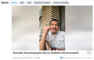 Trampled photographer Yuri Cortez sends Croatia message of support: You have hearts of a lion'