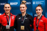 Croatia wins two golds, bronze and silver at Gymnastics World Cup