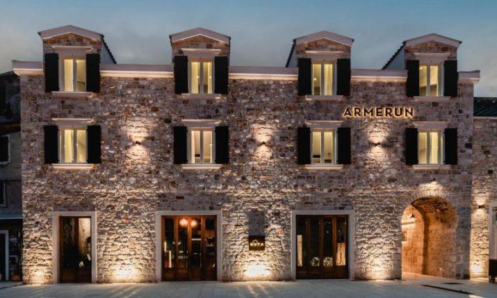 PHOTOS: Impressive new heritage hotel Armerun opens in Šibenik