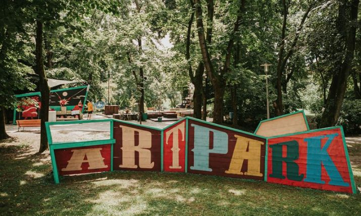 Happenings in Zagreb: Art Park opening at Ribnjak
