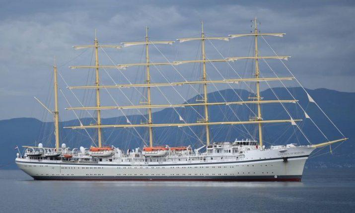 Golden Horizon: World's largest clipper departs shipyard in Croatia where it was built