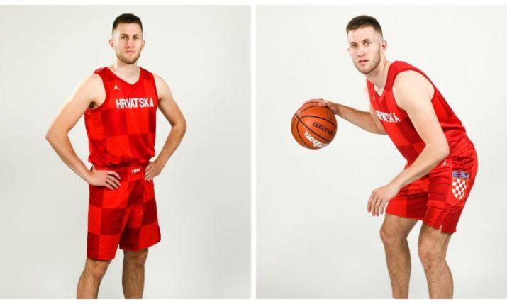 Croatia basketball team unveil new kit